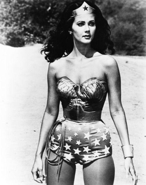 Wonder Woman...my 1st grade teacher looked JUST like her!