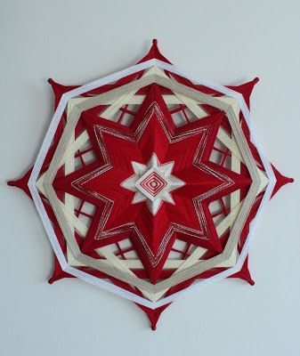 8 point mandala ojo de dios