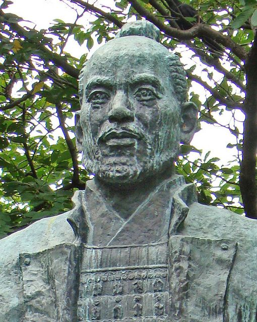 Young Tokugawa Ieyasu  This statue of Tokugawa Ieyasu stands on the grounds of Hamamatsu Castle Park, in the town of Shizuoka, Japan. Ieyasu was the last of the Japan's great three unifiers emerging out of Japan's era of civil war (Sengoku Period) of the 16th century. Ieyasu went on to establish the Tokugawa Shogunate, which lasted from 1603-1868 and brought an unprecedented period of peace and prosperity to Japan.