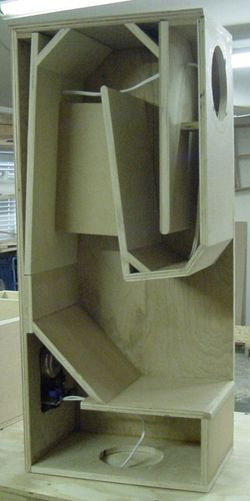 New Folded Horn Bass Cabinet Design