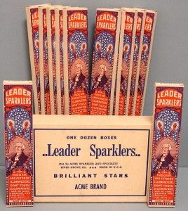 sparkler boxes | LEADER SPARKLERS FIREWORKS COMPLETE DISPLAY 12 BOXES With PRODUCT & OUTER BOX | eBay