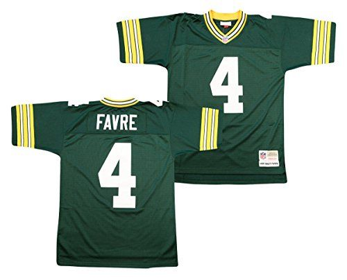 Brett Favre Green Bay Packers Throwback Jerseys