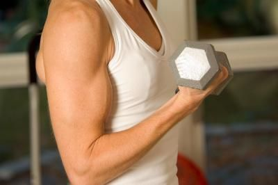 Dumbbell exercises for women to tone arms- I want all my muscules to appear!:)