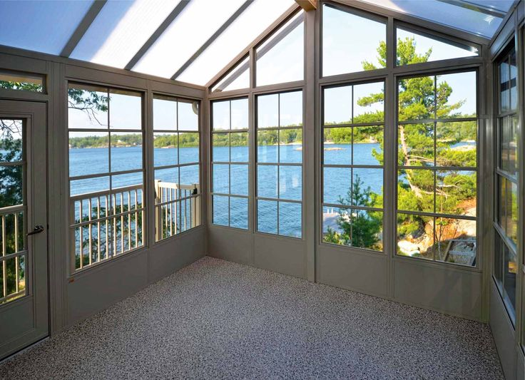 Acrylic Hybrid Roof Sunroom By www.KBSunspaces.com