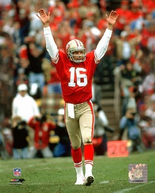 Joe Montana Touchdown San Francisco 49ers Licensed Un-signed Poster 8x10 Photo from $6.99
