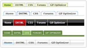 Image result for tabular menu system