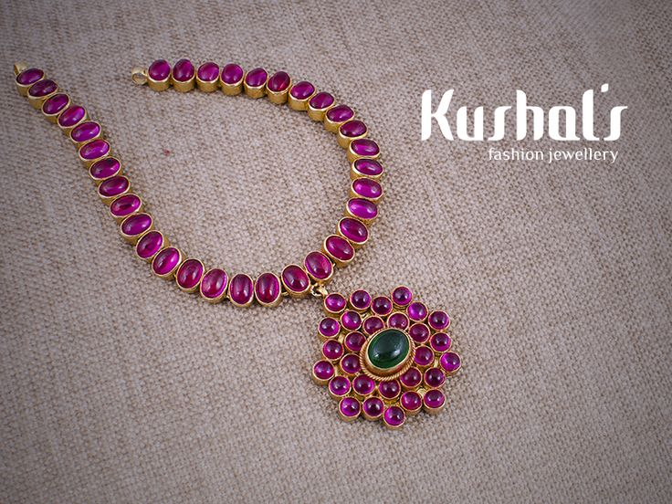 #Silver #TempleJewellery from #Kushals #FashionJewellery #Necklace Design No 50083