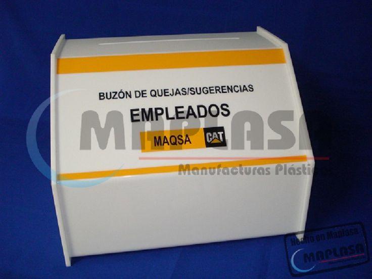 Buzones de Sugerencias de Acrílico Personalizables http://maplasa.com/productos/buzon-sugerencias/Venta-de-Buzones-de-Sugerencias-en-Chihuahua.php