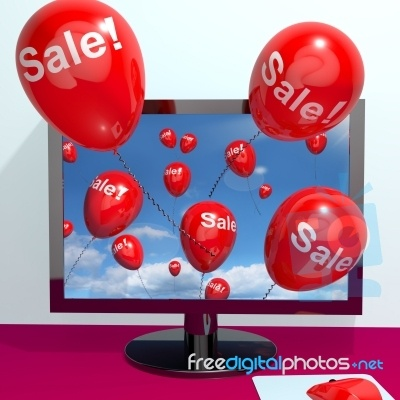 Balloons with sale word very nice