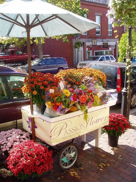 flower cart - Google Search