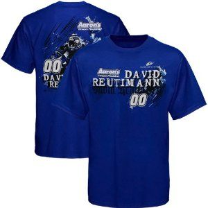 NASCAR Chase Authentics David Reutimann Team Color T-Shirt - Royal Blue (X-Large) by Football Fanatics. $23.95. Rev up your racing spirit with some David Reutimann pride in this Team Color tee from Chase Authenti. Rev up your racing spirit with some David Reutimann pride in this Team Color tee from Chase Authentics! The front features Reutimann's name and number printed alongside racing team and sponsor logos, while the back features a custom print of the driver with racing...