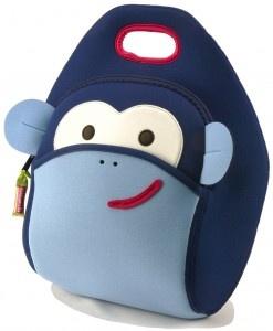 Dabbawalla Lunch Bag Monkey See, Monkey Do. Perfecta para llevar el refrigerio al colegio, la fruta a la oficina o incluso, los útiles de los extracurriculares. $60,000  Ordénala en: www.qipi.co