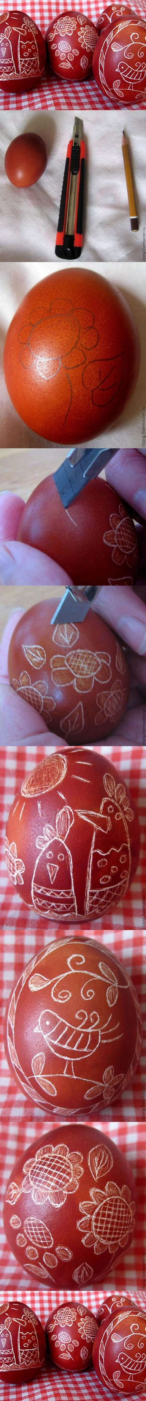 DIY Uniquely Decorated Easter Eggs | iCreativeIdeas.com Like Us on Facebook ==> https://www.facebook.com/icreativeideas