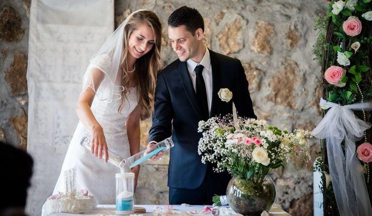 Rituel de cérémonie de mariage laïque : le sable  Voir l'article complet de tous les rituels de mariage sur le blog www.une-belle-ceremonie.fr
