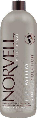 Norvell Dark Premium Sunless Solution - Liter or 33.8 oz