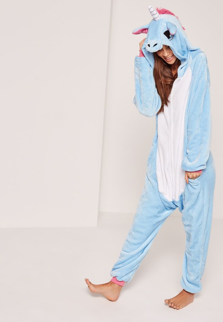 We all know you were born as a unicorn - pull on this mystical onesie to channel your inner animal for those lounge around days.