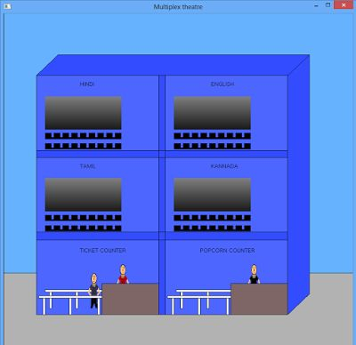 Multiplex - C++ graphics program - Screen View