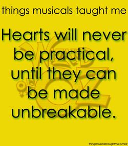 Hearts will never be practical until they can be made unbreakable.  The Wizard of Oz