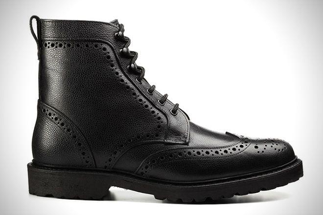 Allen Edmond Shoes Black Dress   E Used