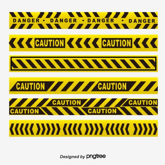 Yellow Black Warning Line Yellow Cordon Dividing Line High Pressure Cordon Png And Vector With Transparent Background For Free Download Red Warning Light Pop Art Wallpaper Aesthetic Stickers