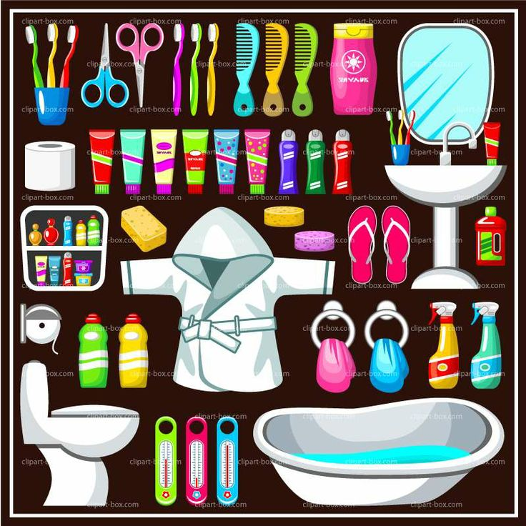 Vektor Clipart, Bad Sets, Badezimmer, Adobe Illustrator,  Vektor Illustrationen, Schriftarten, Vectors, Font Logo, Coreldraw .
