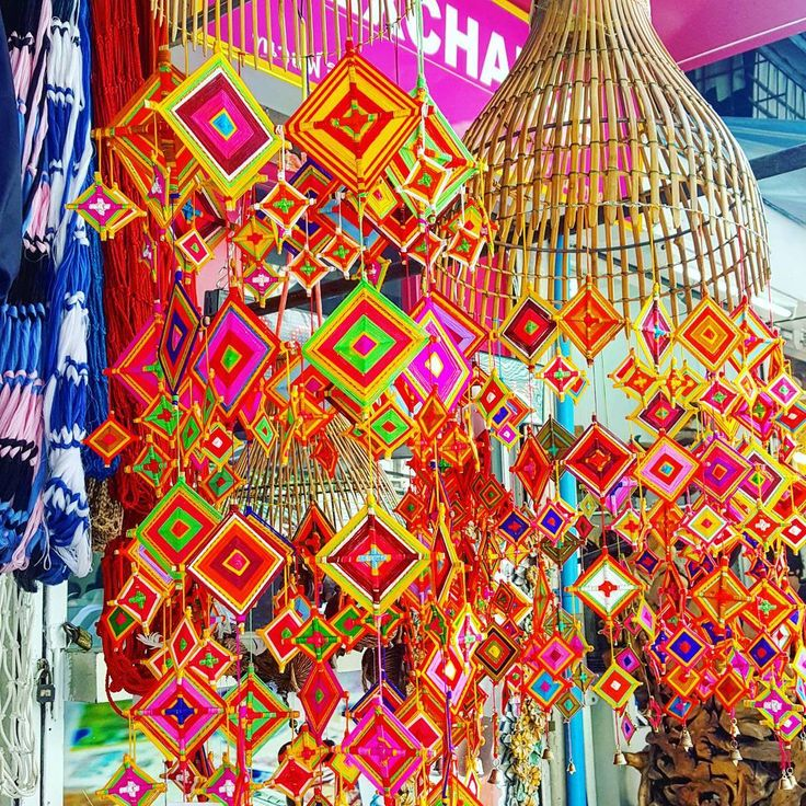 When the mystery Burmese jungle diseases sends you on an unexpected trip to Bangkok to visit the Hospital for Tropical Diseases (no lie), you'll take the opportunity for a little side jaunt to Chatachauk Market for some color therapy (and load up on beautiful Karen tribe tunics...). #pprainbow @passionpassport