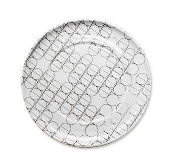 SCANDINAVIAN SET - plate - Mopsdesign  Porcelain plate, element of SCANDINAVIAN SET collection.