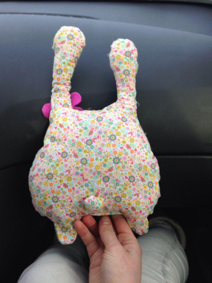 Bunny. Mijn eerste knuffelproject