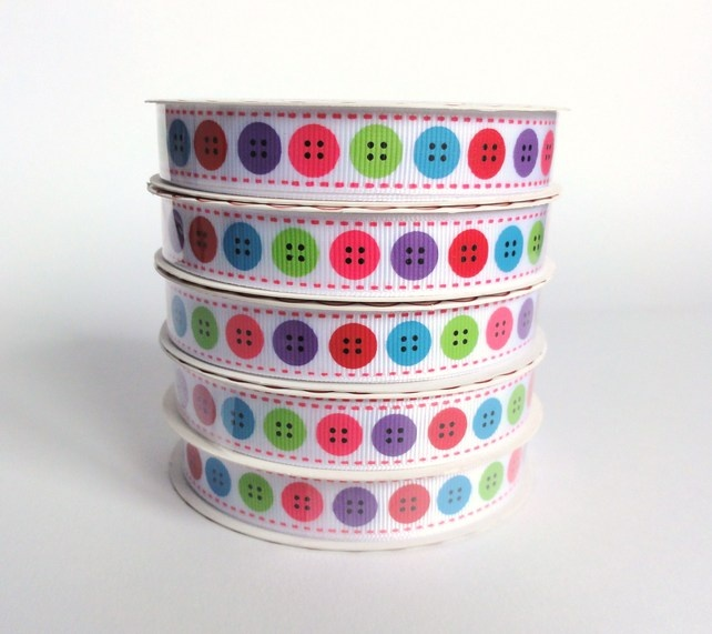 Button Ribbon £3.00