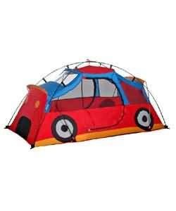 The Kiddie Coupe Pop Up Play Tent by Kiddie. $47.06. This kid's pop up tent will have your kids playing for hours and hours. The Kiddie Coupe tent features a cute design of the exterior of a car. This tent sets up with just four fiberglass poles.
