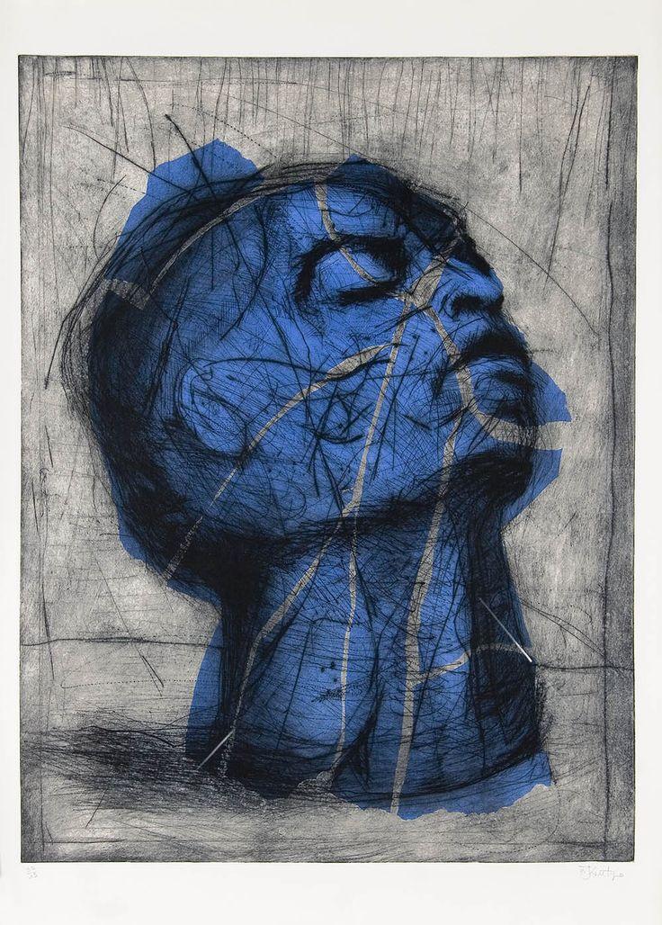 Blue Head by William Kentridge