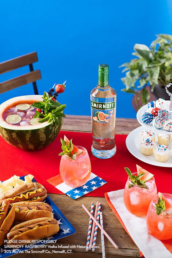 There's no better way to enjoy the fruits of your labor than with a bowl full of Watermelon Smash, and some good friends to share it with this Labor Day Weekend. Recipe (Serves 8): 1.5 cups of Smirnoff Watermelon, 3 cups tonic, 1 cup of fresh watermelon juice and mint for garnish