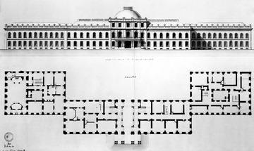 Erdgeschoss Schloss Hohenheim