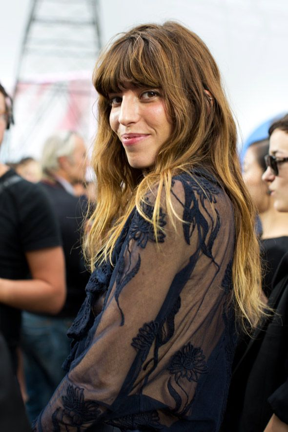 Lou Doillon | At Chanel | The Sartorialist