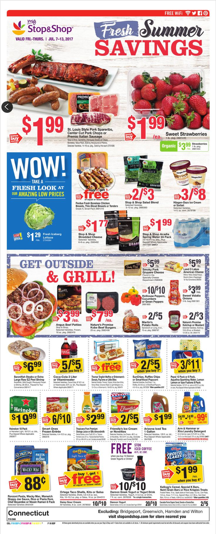 Stop and Shop Circular July 7- 13, 2017 - http://www.olcatalog.com/grocery/stop-and-shop-circular.html