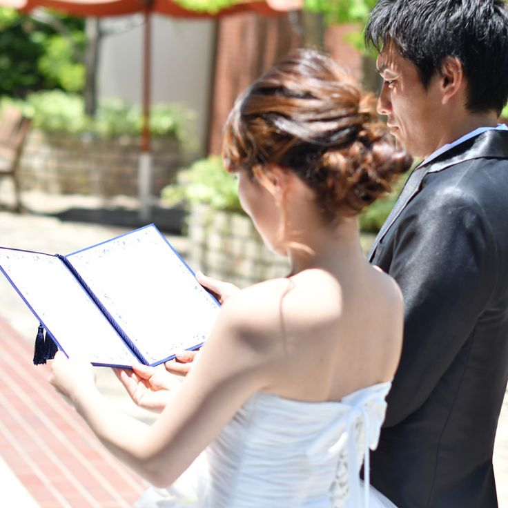 誓いの言葉♡結婚証明書 http://www.farbeco.jp/
