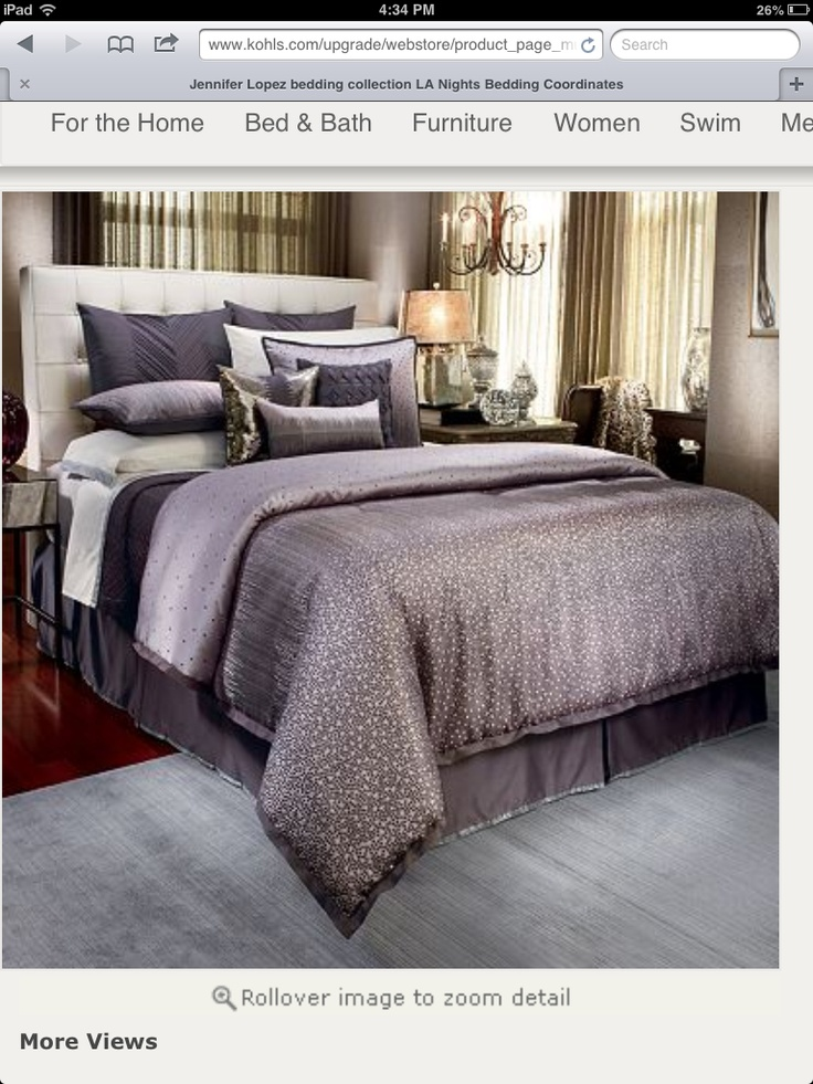 Bedding At Kohl S Shop Our Wide Selection Of Bedding Coordinates Including This Jennifer Lopez Bedding Collection La Nights Duvet Cover Set At Kohl S