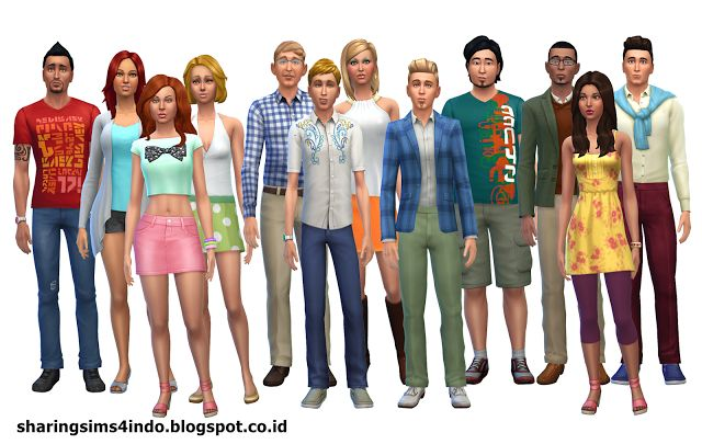 Oasis Springs Residents #sims4 #world