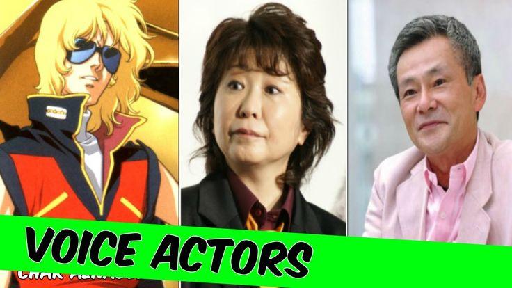 Mobile Suit Gundam The Origin [Japanese] Voice Actors Mobile Suit Gundam...