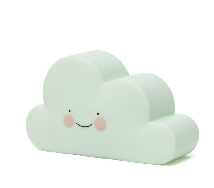 Een nachtlampje in de vorm van een wolk, ideaal voor op de kinderkamer! Ontwerp van Eef Lillemor voor Psikhouvanjou!