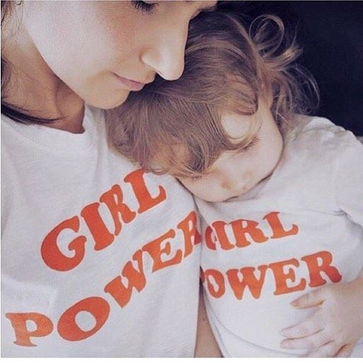 #fbf to this adorable pic of the beautiful @akapeachie and her daughter in our Girl Power tees in aid of @worldreader 💖👭✌🏼️ #girlpower #power #girlboss #fashion #slogan #ootd #wiwt #mother #motherhood #sisterhood #girlgang #daughter #twinning #twinningiswining #blogger #fblogger #charity #love #happy #beautiful #life #GirlPowerTee #equality #anythingispossible #feminist #feminism