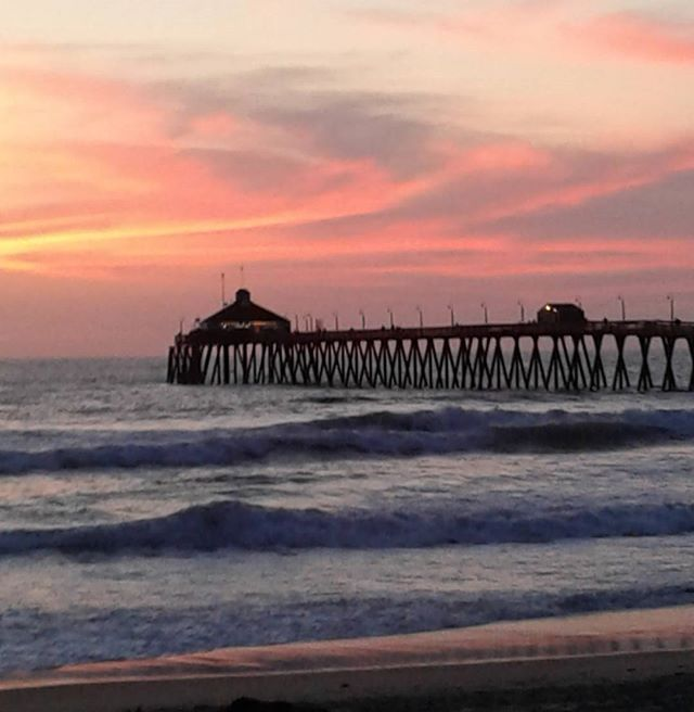 With a sunset like this a drive by is a must !!! #imperialbeachlocals #sandiegoconnection #sdlocals #iblocals - posted by pamela hamlin  https://www.instagram.com/hamlin.pamela. See more post on Imperial Beach at http://imperialbeachlocals.com