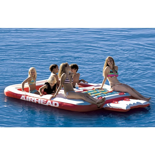 Exceptional AIRHEAD Cool Island Lake Float Lounge Except Itu0027s For The Beach!