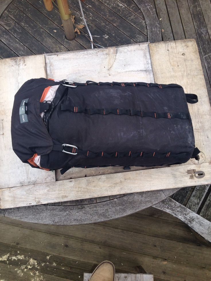 Exped Mountain Pro 40, stripped