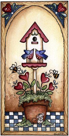 Laurie Furnell   laurie furnell casinhas de passarinhos