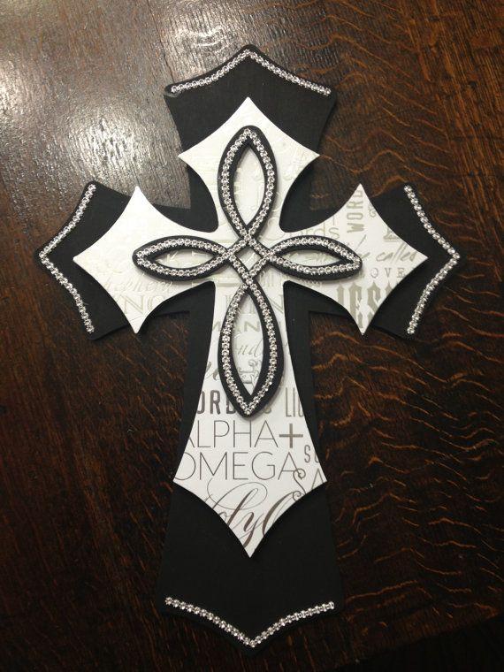 Best 25 wooden cross crafts ideas on pinterest cross for Cross wall decor ideas