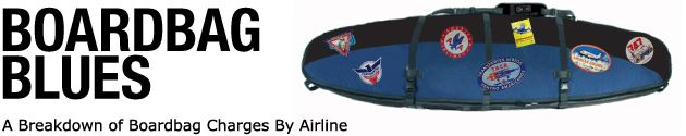 A fantastic resource for anyone who loves the ocean! A breakdown of airline fees for traveling with a surfboard. One day, I'm certain I will need this. @First Descents, this looks like something you might enjoy! [This pin description was written by Libbi Diane Flynn]