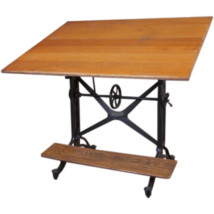 18 Drafting Tables In Interior Designs: 16 Best Antique Drafting Tables Images On Pinterest