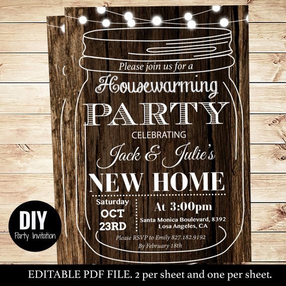 Best 25 Housewarming party invitations ideas – Invitations for Housewarming Party