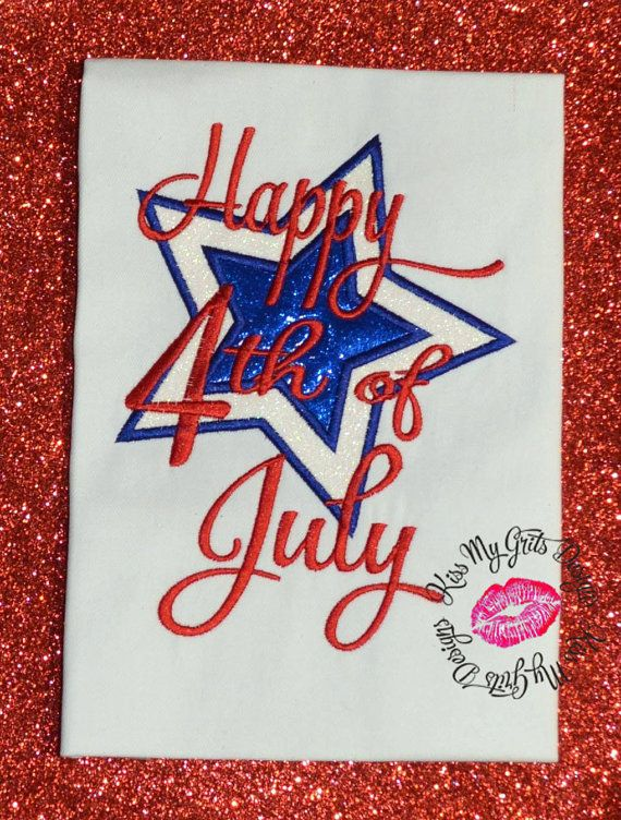 1000 images about 4th of july embroidery designs on pinterest. Black Bedroom Furniture Sets. Home Design Ideas